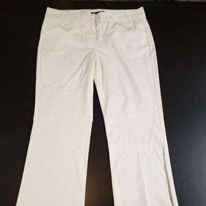 Theory Ivory Dress Pants